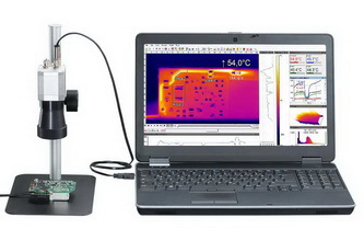 Thermal Camera optris PI640 Microscope optics